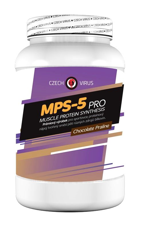 MPS-5 Pro - Czech Virus 2250 g Vanilla Ice Cream