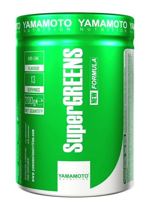Super Greens (patentované výťažky z ovocia a zeleniny) - Yamamoto 200 g Mint+Lime