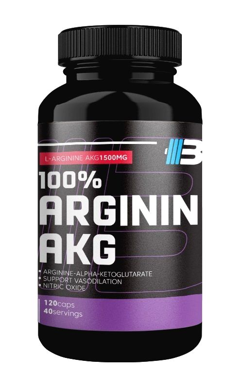 100% Arginin AKG - Body Nutrition 240 kaps.