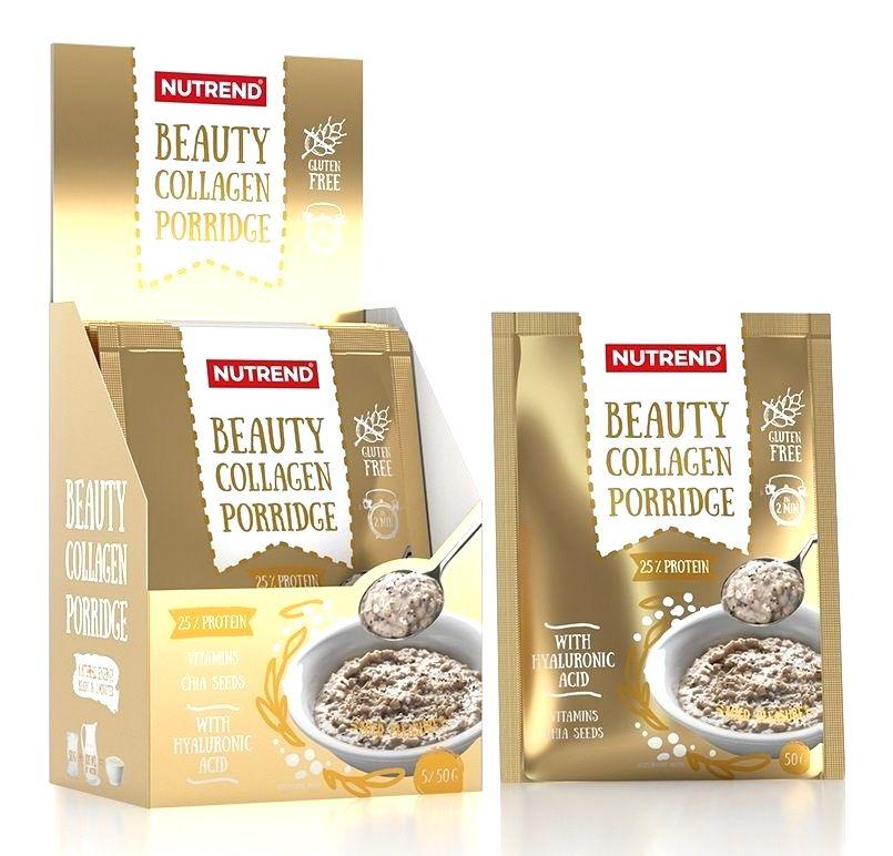 Beauty Collagen Porridge - Nutrend 5 x 50 g Mild Pleasure