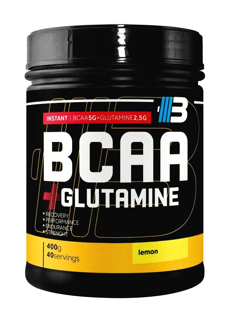 BCAA + Glutamine 2:1:1 - Body Nutrition  400 g Raspberry