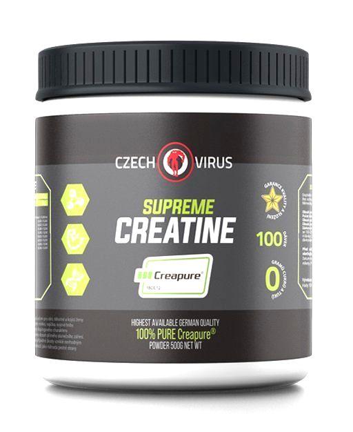 Supreme Creatine Creapure - Czech Virus 500 g