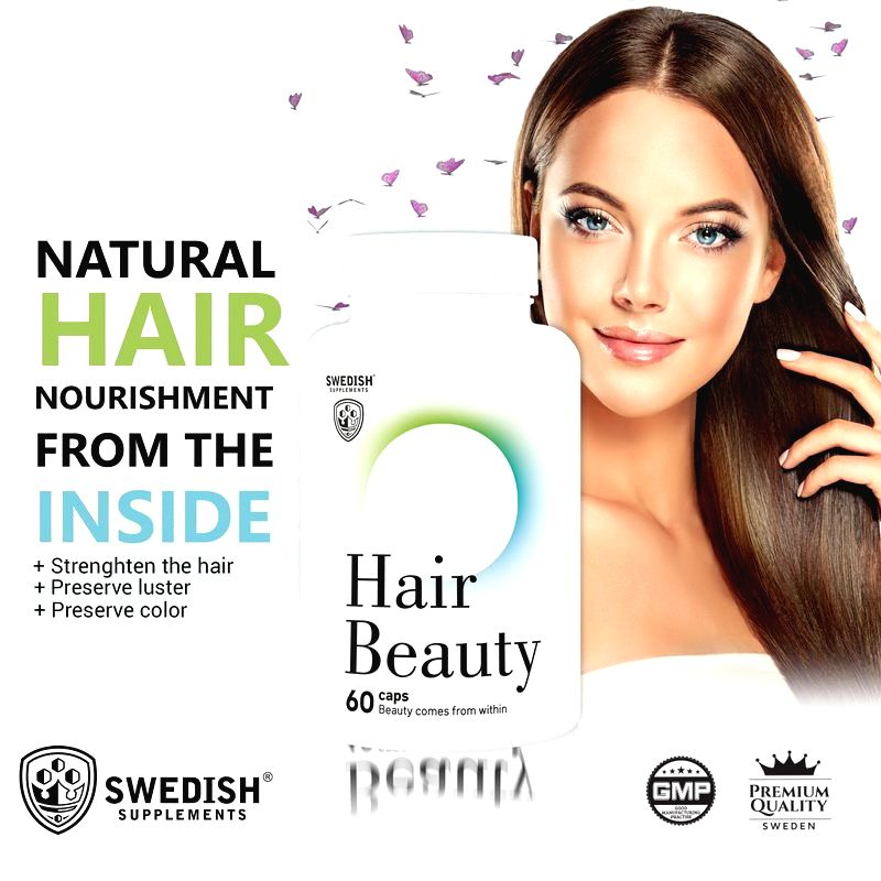 Hair Beauty - Swedish Supplements 60 kaps.