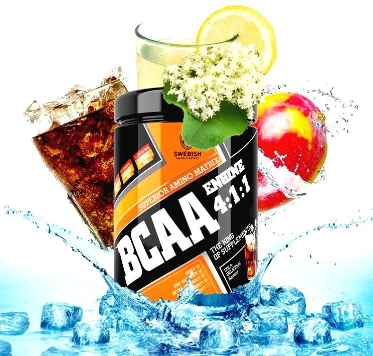 BCAA Engine 4:1:1 - Swedish Supplements 400 g Winegum Candy
