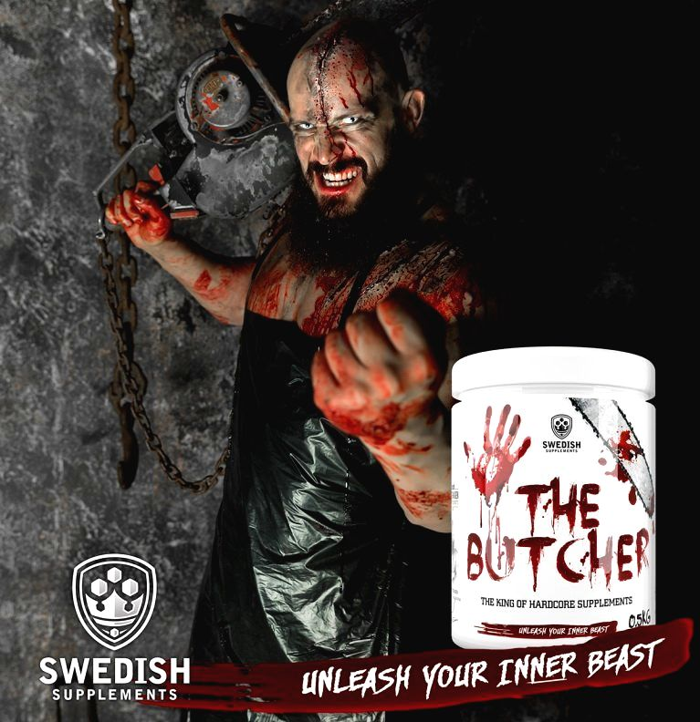 The Butcher - Swedish Supplements 525 g Zombie Cola