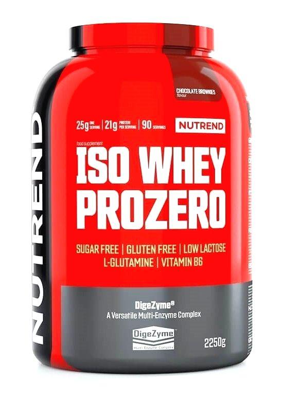 Iso Whey ProZero - Nutrend 500 g Vanilla Pudding