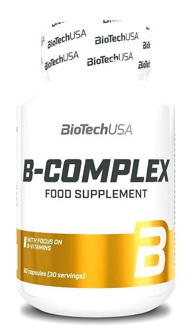 B-Complex - Biotech USA 60 kaps.