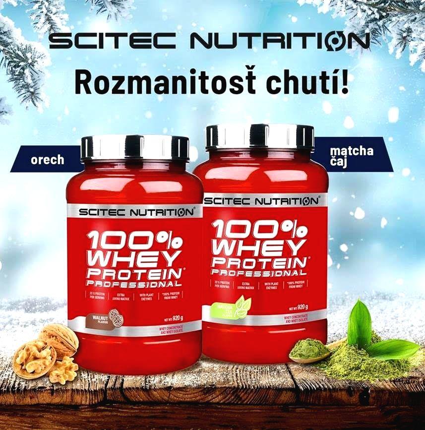 100% Whey Protein Professional - Scitec Nutrition 920 g Čokoláda Peanut Butter