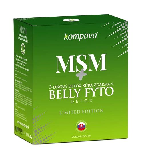 MSM - Kompava 120 kaps