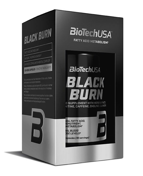 Black Burn - Biotech USA 90 kaps.