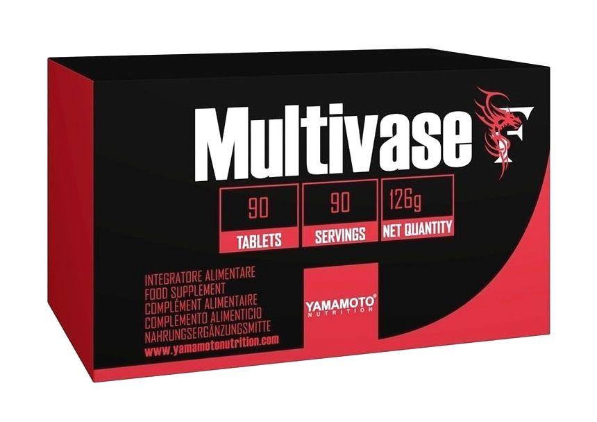 Multivase (multivitamín s postupným uvoľňovaním) - Yamamoto 90 tbl.
