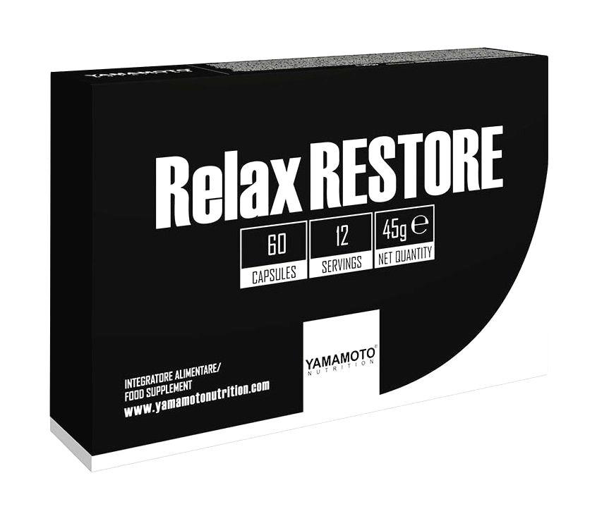 Relax RESTORE (skracuje čas potrebný na zaspávanie) - Yamamoto 60 kaps.