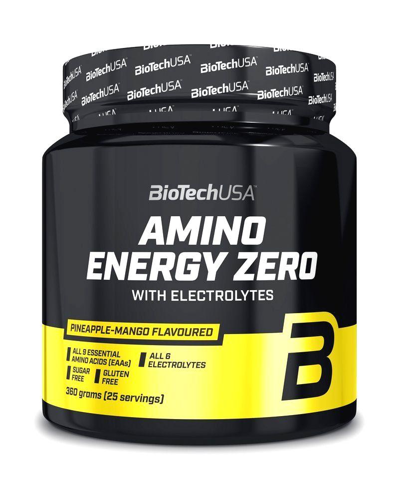 Amino Energy Zero with Electrolytes - Biotech USA 360 g Pineapple+Mango