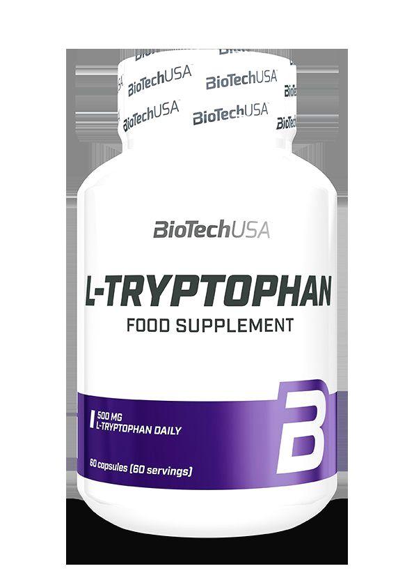 L-Tryptophan - Biotech USA 60 kaps.
