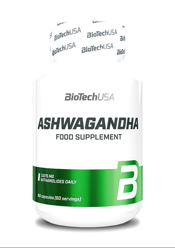 Ashwagandha - Biotech USA 60 kaps.