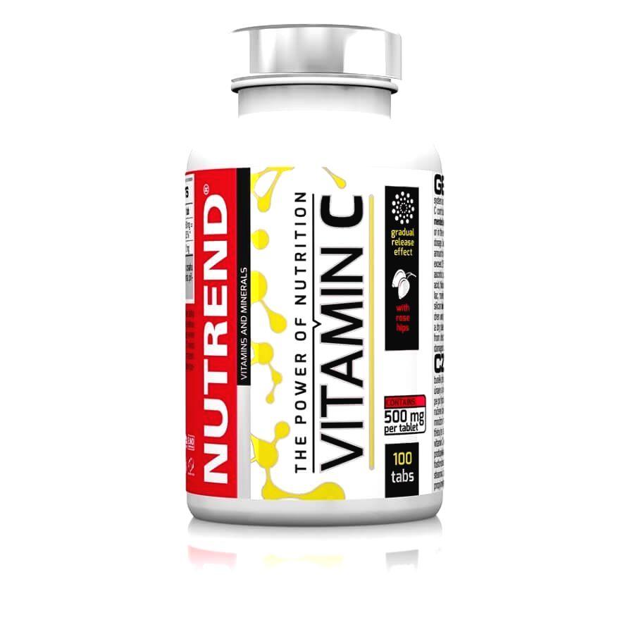 Vitamín C + šípky - Nutrend 100 tbl.