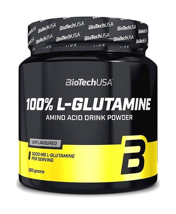 100% L-Glutamine - Biotech USA 500 g