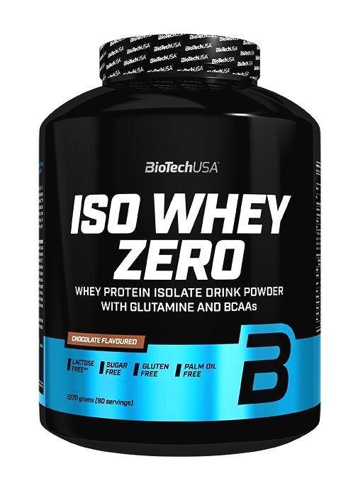ISO Whey ZERO - Biotech USA 500 g sáčok Čokoláda