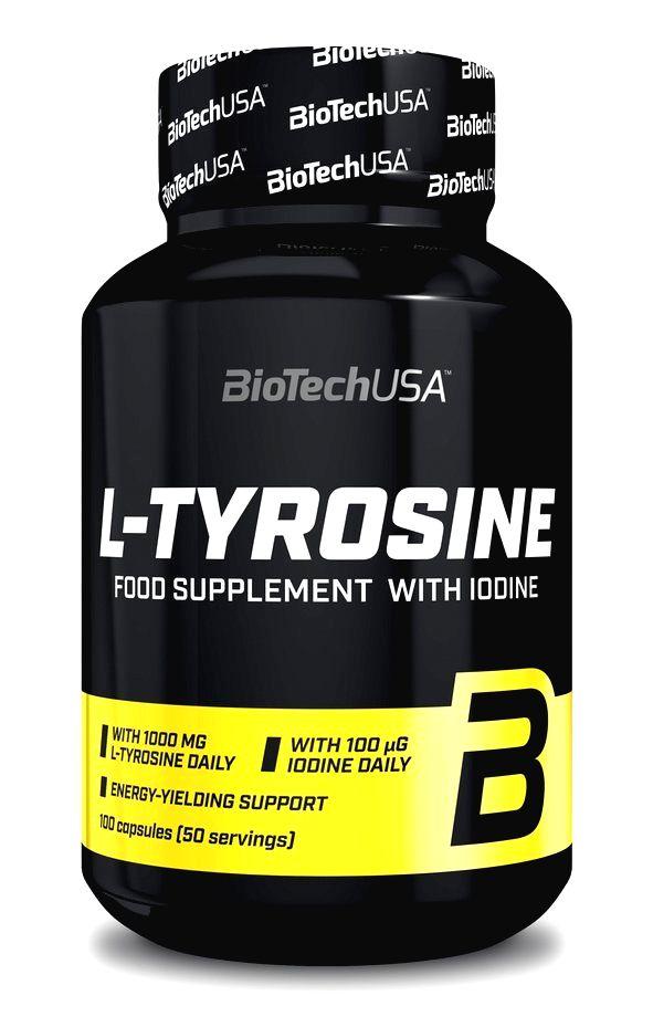 L-Tyrosine - Biotech USA 100 kaps.