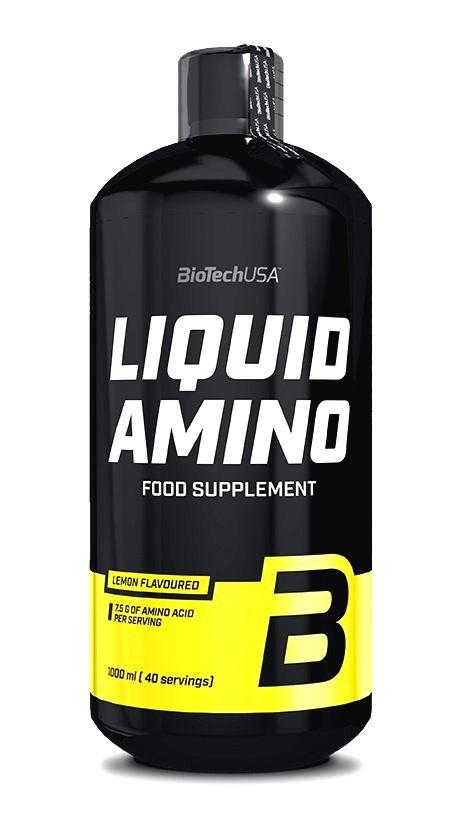 Liquid Amino - Biotech USA 25 ml. Ampulka Pomaranč