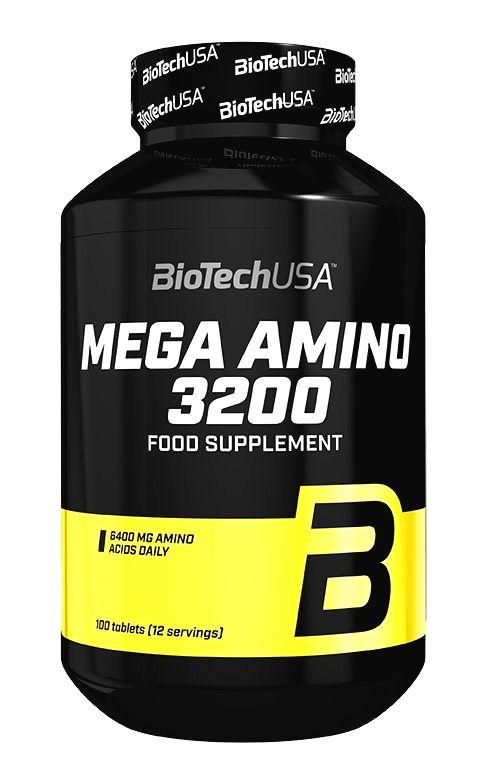 Mega Amino 3200 - Biotech USA 500 tbl