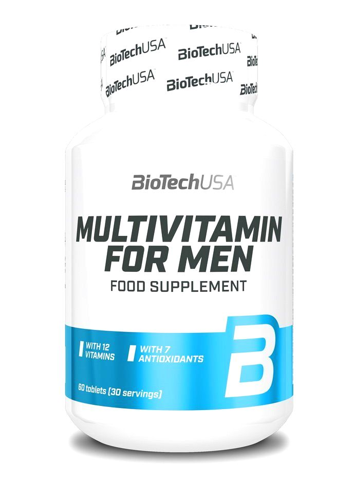 Multivitamin for Men - Biotech USA 60 tbl
