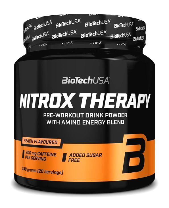 NitroX Therapy - Biotech USA 340 g Tropické ovocie