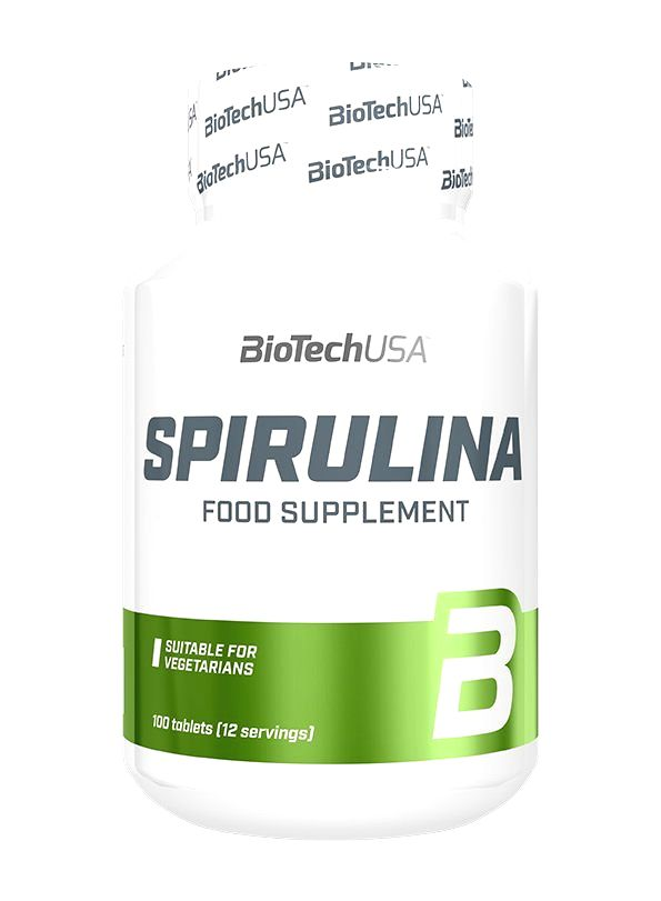 Spirulina - Biotech USA 100 tbl.