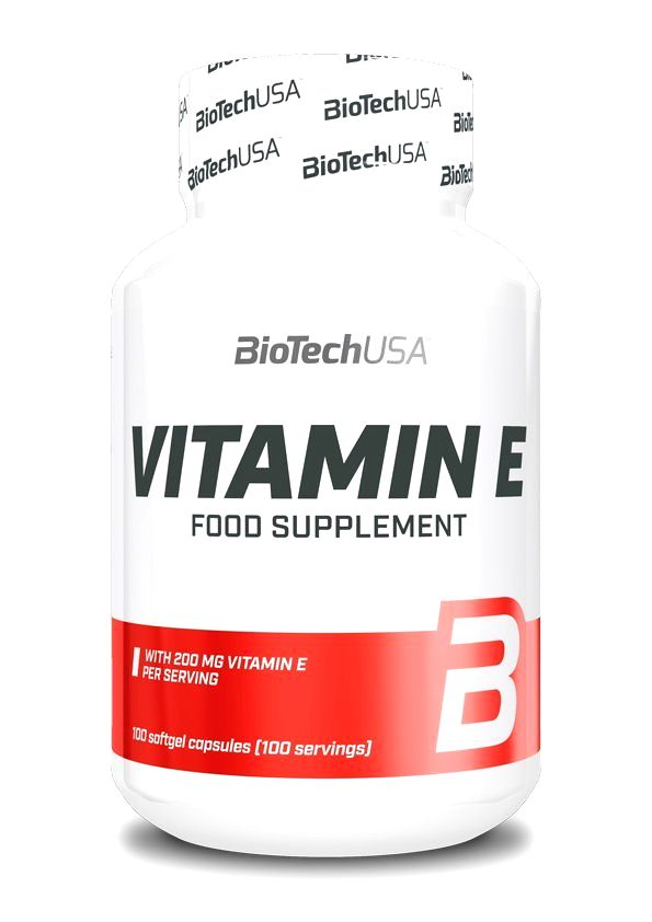 Vitamin E - Biotech USA 100 kaps