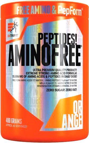 Amino Free Peptides - Extrifit 400 g Pomaranč
