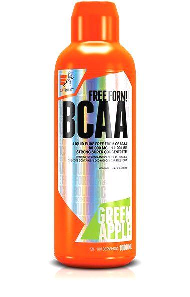 BCAA 80 000 Liquid - Extrifit 1000 ml. Višňa