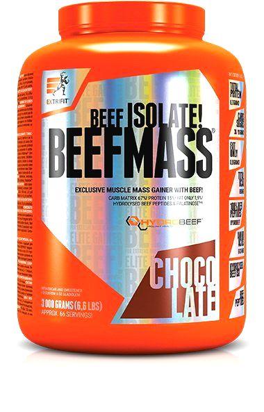 Beefmass Gainer - Extrifit 3000 g Čokoláda