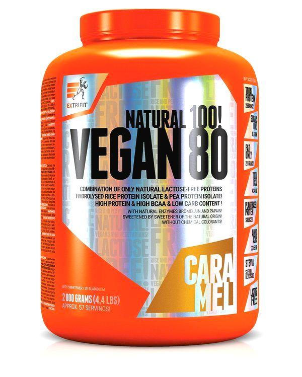 Vegan 80 od Extrifit 2000 g Ice Coffe