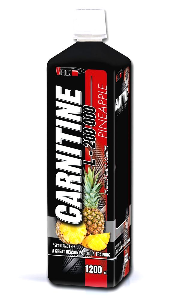 Carnitine L-200 000 - Vision Nutrition 1200 ml Pomaranč