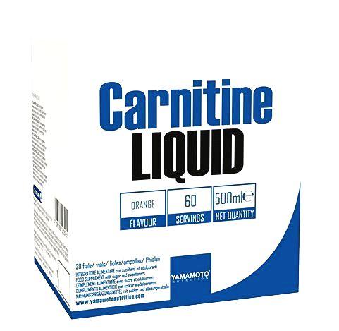 Carnitine Liquid - Yamamoto 20 x 25 ml. Orange