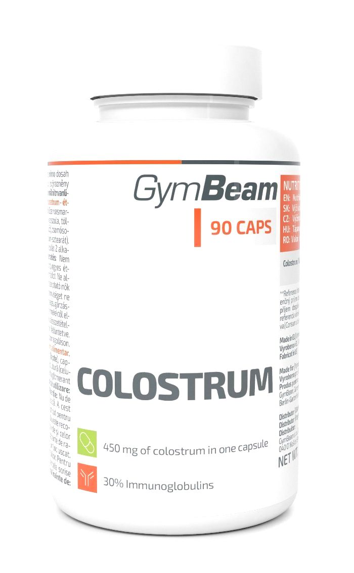 Colostrum - GymBeam 90 kaps.