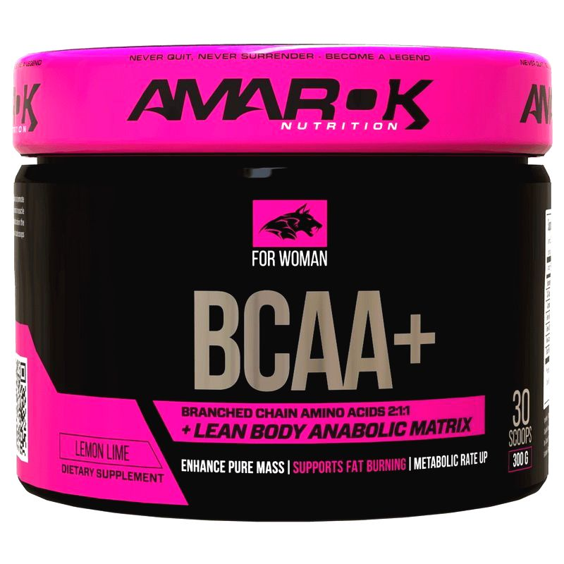 For Woman BCAA Plus - Amarok Nutrition 300 g Lemon Lime