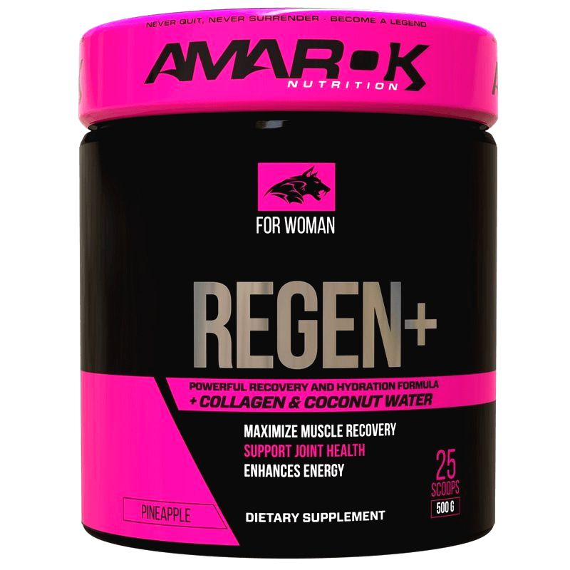 For Woman Regen Plus - Amarok Nutrition 500 g Pineapple