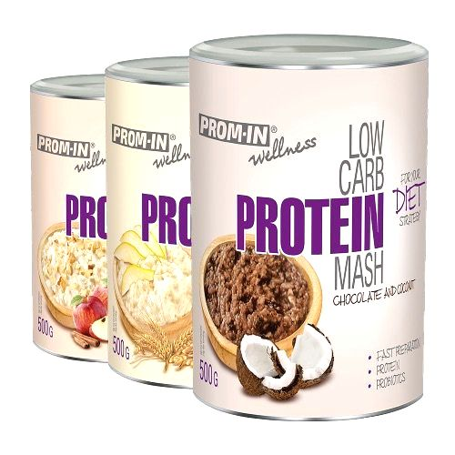 1+1 Zadarmo: Low Carb Protein Mash - Prom-IN 500 g + 500 g Sweet Pear