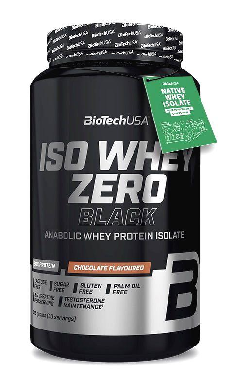 Iso Whey Zero Black - Biotech USA 908 g Vanilla