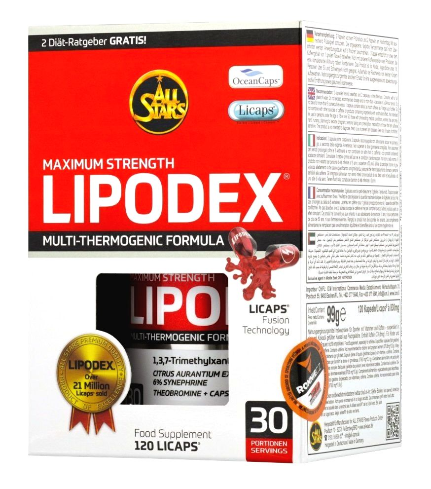 Lipodex - All Stars 120 kaps