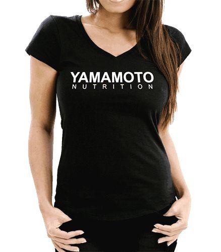 Lady T-Shirt V 145 OE - Yamamoto Active Wear Čierna XS
