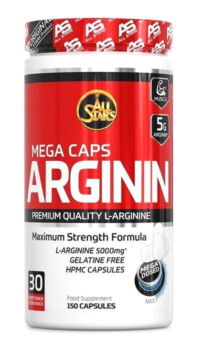 Arginin Mega Caps - All Stars 150 kaps.