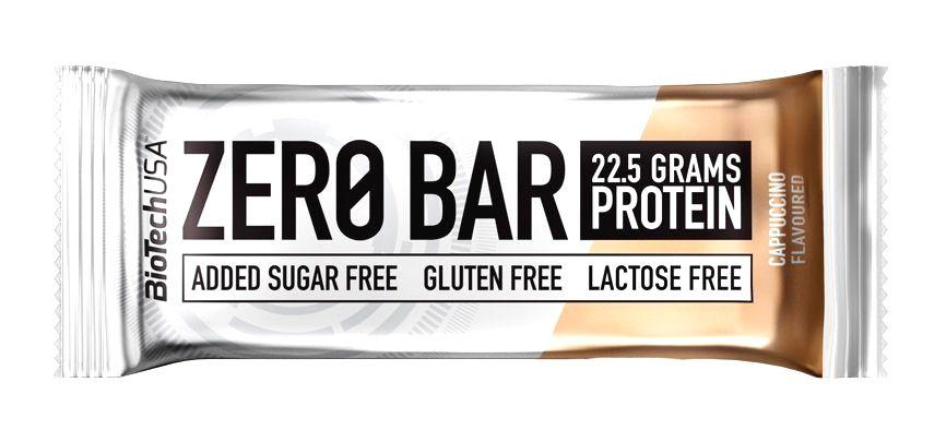 Tyčinka Zero Bar - Biotech USA 50 g Double Chocolate