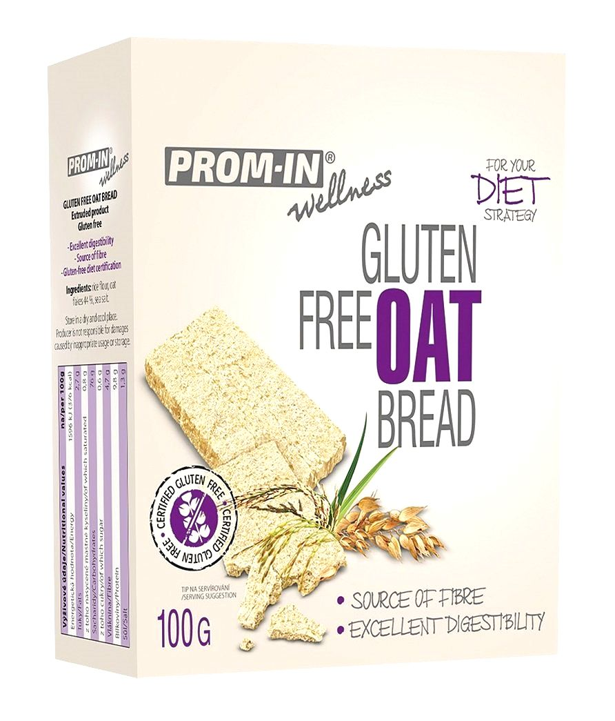 Gluten Free Oat Bread - Prom-IN 100 g Neutral