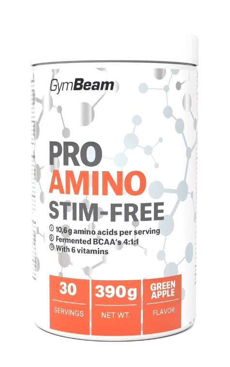 Pro Amino Stim-Free - GymBeam 390 g Orange