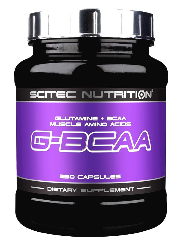 G-BCAA - Scitec Nutrition 250 kaps.