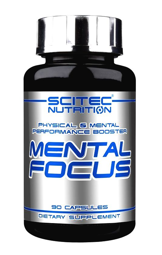 Mental Focus - Scitec Nutrition 90 kaps.