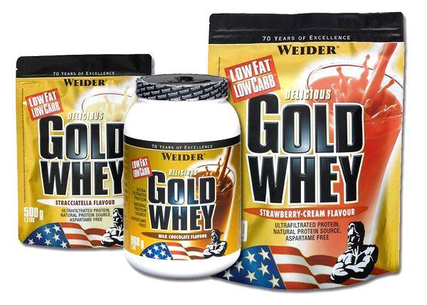 Delicious Gold Whey Protein 80 % - Weider 2000 g sáčok Vanilka