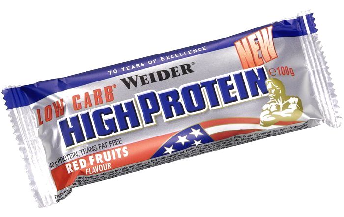 Tyčinka Low Carb High Protein Bar - Weider 50 g Stracciatella